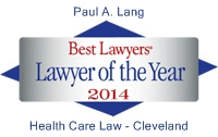 Lawyer of the Year - Paul Lang 2014