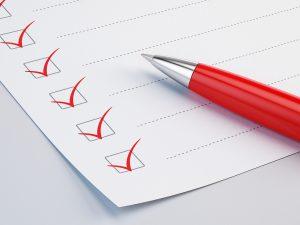 ROLF Checklist